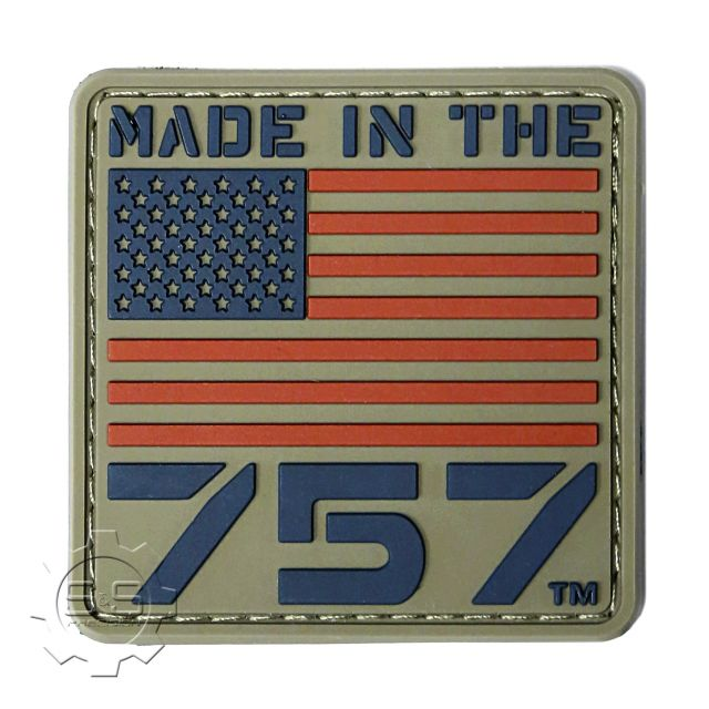 Made in the 757, Mini Rubber Patch
