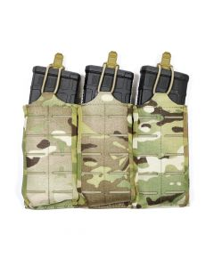 Triple M4 Stackable Pouch with Mags Multicam